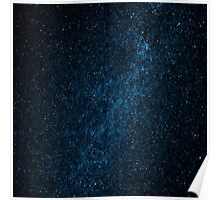 Starry Night Galaxy Design Poster