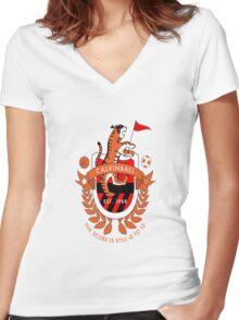 calvinball Women's Fitted V-Neck T-Shirt