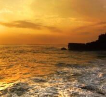 Sunset In Bali Sticker