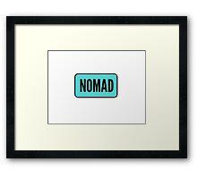 Nomad. Framed Print