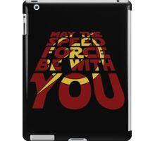 SPEED FORCE AWAKENS iPad Case/Skin
