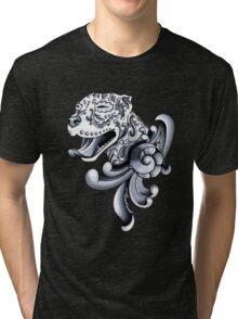 Ornamental Pit Bull Tri-blend T-Shirt
