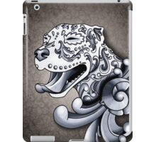 Ornamental Pit Bull iPad Case/Skin