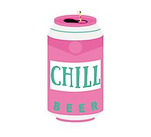 Chill Beer Photographic Print