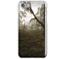 Frosty and Foggy Morning at Macgregor Nature Reserve (ACT/Australia) (11) iPhone Case/Skin