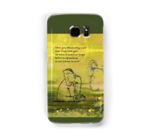 Yoga for Elephants 1 Samsung Galaxy Case/Skin
