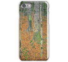 Gustav Klimt - The Birch Wood -  Klimt -Birch Trees  iPhone Case/Skin
