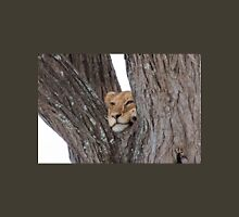Young Masai Lion (Panthera leo massaica) on a Tree Unisex T-Shirt