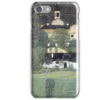 Gustav Klimt - Schloss Kammer Am Attersee - Klimt  - Landscape iPhone Case/Skin
