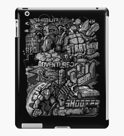 All round gamer iPad Case/Skin