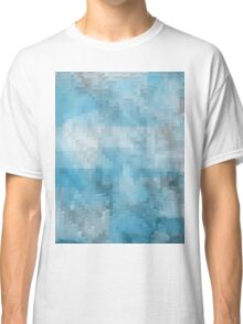 Abstract blue pattern 3 Classic T-Shirt