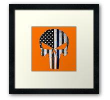 The Punisher Skull Framed Print
