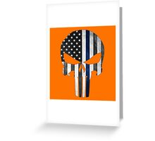 The Punisher Skull Greeting Card