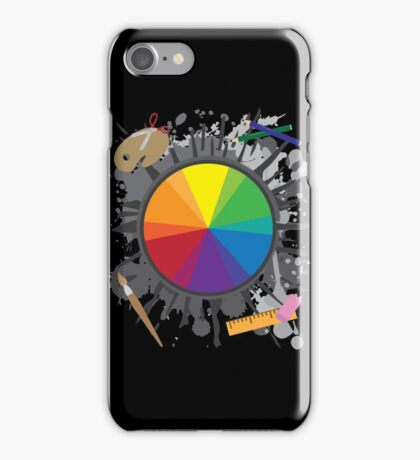 Artist Tools - Color Wheel iPhone Case/Skin
