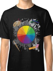 Artist Tools - Color Wheel Classic T-Shirt