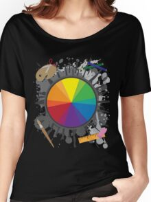 Artist Tools - Color Wheel Women's Relaxed Fit T-Shirt