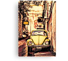 Back Street Bug Canvas Print