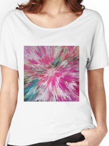 Abstract flower pattern 3 Women's Relaxed Fit T-Shirt