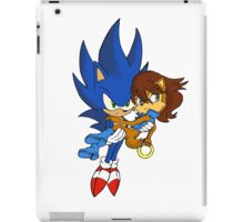 Sonic and Sally iPad Case/Skin