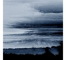 Abstract black painting 2 Photographic Print