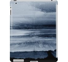 Abstract black painting 2 iPad Case/Skin