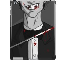 a knife and a smile iPad Case/Skin