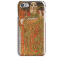 Gustav Klimt - Hygieia -Klimt -  Hygieia (Detail From Medicine) iPhone Case/Skin