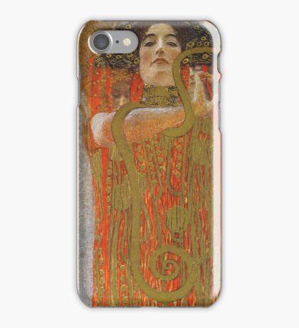 Gustav Klimt - Hygieia -Klimt -  Hygieia (Detail From Medicine) iPhone Case/Skin
