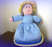 Hand Made knitted Doll  by EdsMum