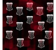 Corset pattern Photographic Print