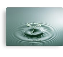 Jade Tornado - Water Drop Canvas Print