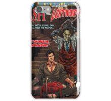 ASH LEATHER FACE EVIL DEAD iPhone Case/Skin
