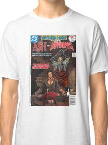 ASH LEATHER FACE EVIL DEAD Classic T-Shirt
