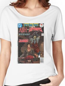 ASH LEATHER FACE EVIL DEAD Women's Relaxed Fit T-Shirt