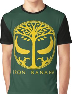 IRON BANANA Graphic T-Shirt