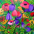 Summer Garden by marlene veronique holdsworth