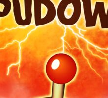 Spuddow Sticker