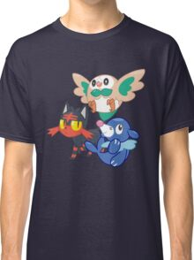 Pokemon Sun and Moon Starters Classic T-Shirt