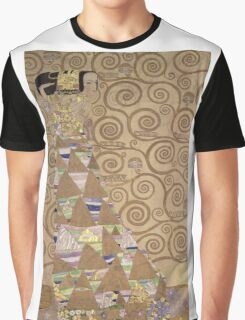 Gustav Klimt - Expectation - Klimt - Graphic T-Shirt