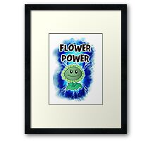 Flower Power Framed Print