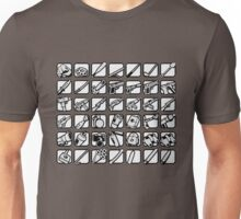GTA San Andreas weapons icons Unisex T-Shirt
