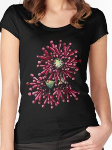 Eucalyptus Flowers Women's Fitted Scoop T-Shirt