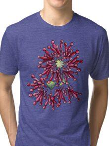 Eucalyptus Flowers Tri-blend T-Shirt