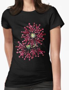 Eucalyptus Flowers Womens Fitted T-Shirt
