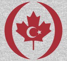Turkish Canadian Multinational Patriot Flag Series Baby Tee