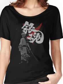 Sakata Gintoki - Gintama anime Women's Relaxed Fit T-Shirt
