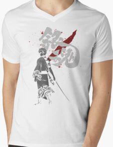 Sakata Gintoki - Gintama anime Mens V-Neck T-Shirt