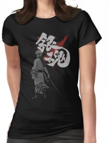 Sakata Gintoki - Gintama anime Womens Fitted T-Shirt