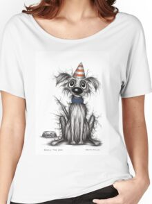 Boris the dog Women's Relaxed Fit T-Shirt