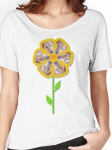 Buster Blooms Women's Relaxed Fit T-Shirt